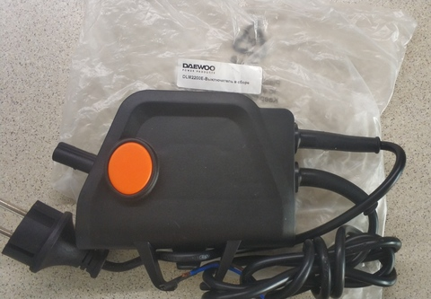 Выключатель в сборе Daewoo DLM 2200E