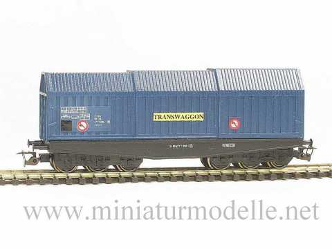 6-ос. Вагон для перевозки стали (Shis) «TRANSWAGGON», DB, (V Эп.)