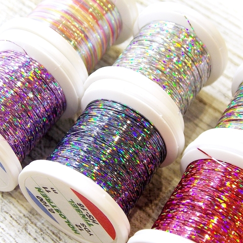 HENDS Люрекс Holostrength 1/100 Holographic Tinsel 12 Yards