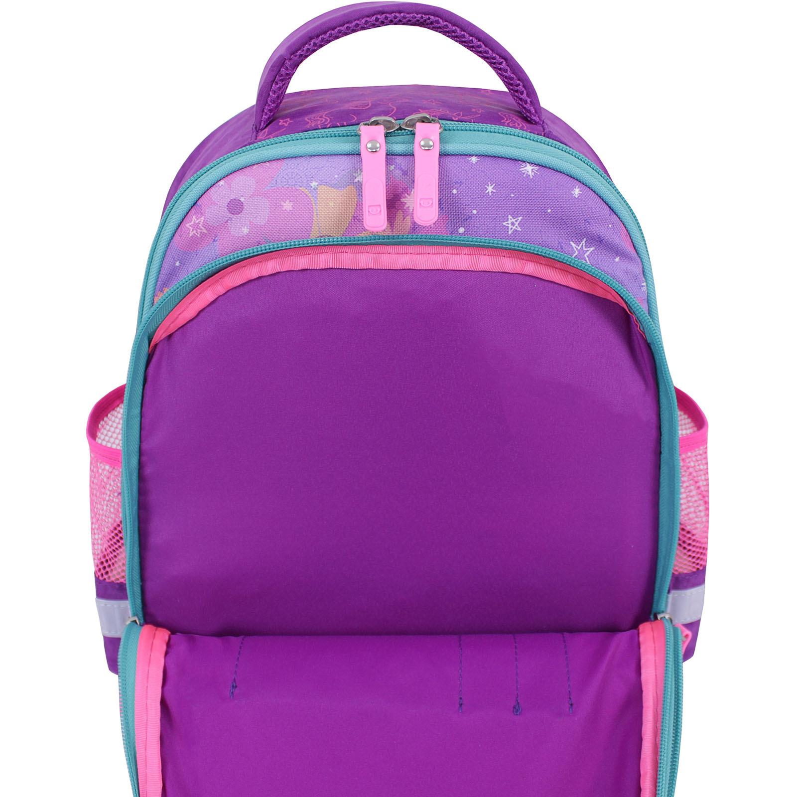 Рюкзак школьный Bagland Mouse 339 фиолетовый 596 (0051370) фото 4