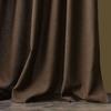 Комплект штор с подхватами Джулия коричневый