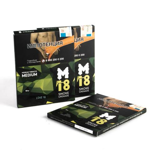 Табак M18 Medium 50 гр Love 18