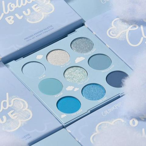 ColourPop On Cloud Blue shadow palette