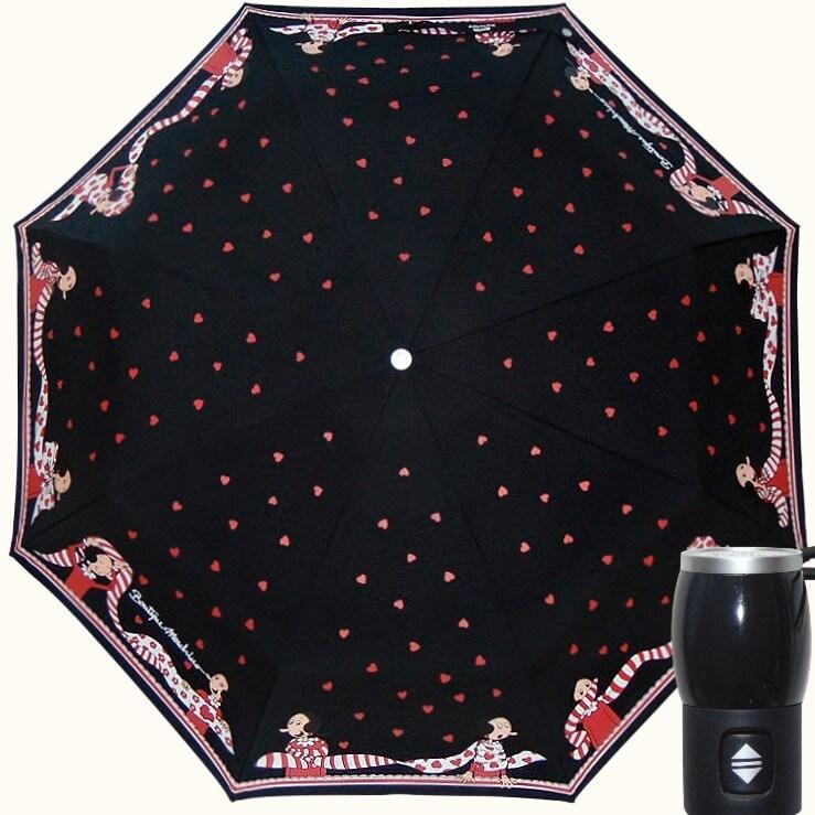 Зонт складной Moschino Boutique 7961-A Olivia Scarves