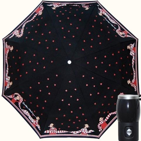 черный зонтик оливия moschino