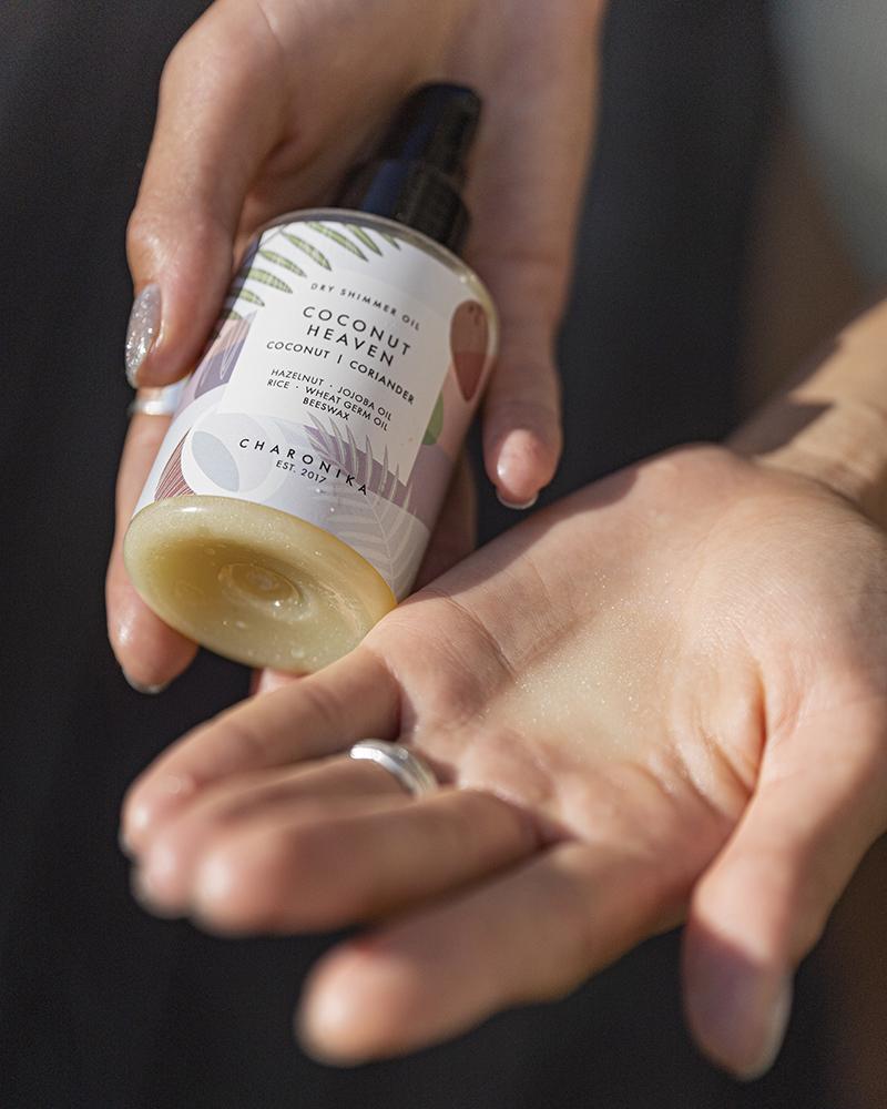 Dry Shimmer Oil coconut | coriander