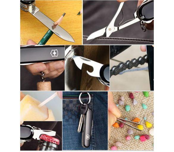 Складной нож Victorinox Mountaineer Black (1.3743.3) 91 мм., 18 функций, цвет чёрный - Wenger-Victorinox.Ru