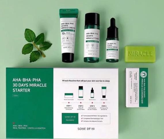 SOME BY MI Aha-Bha-Pha 30 Days Miracle Starter набор для лица