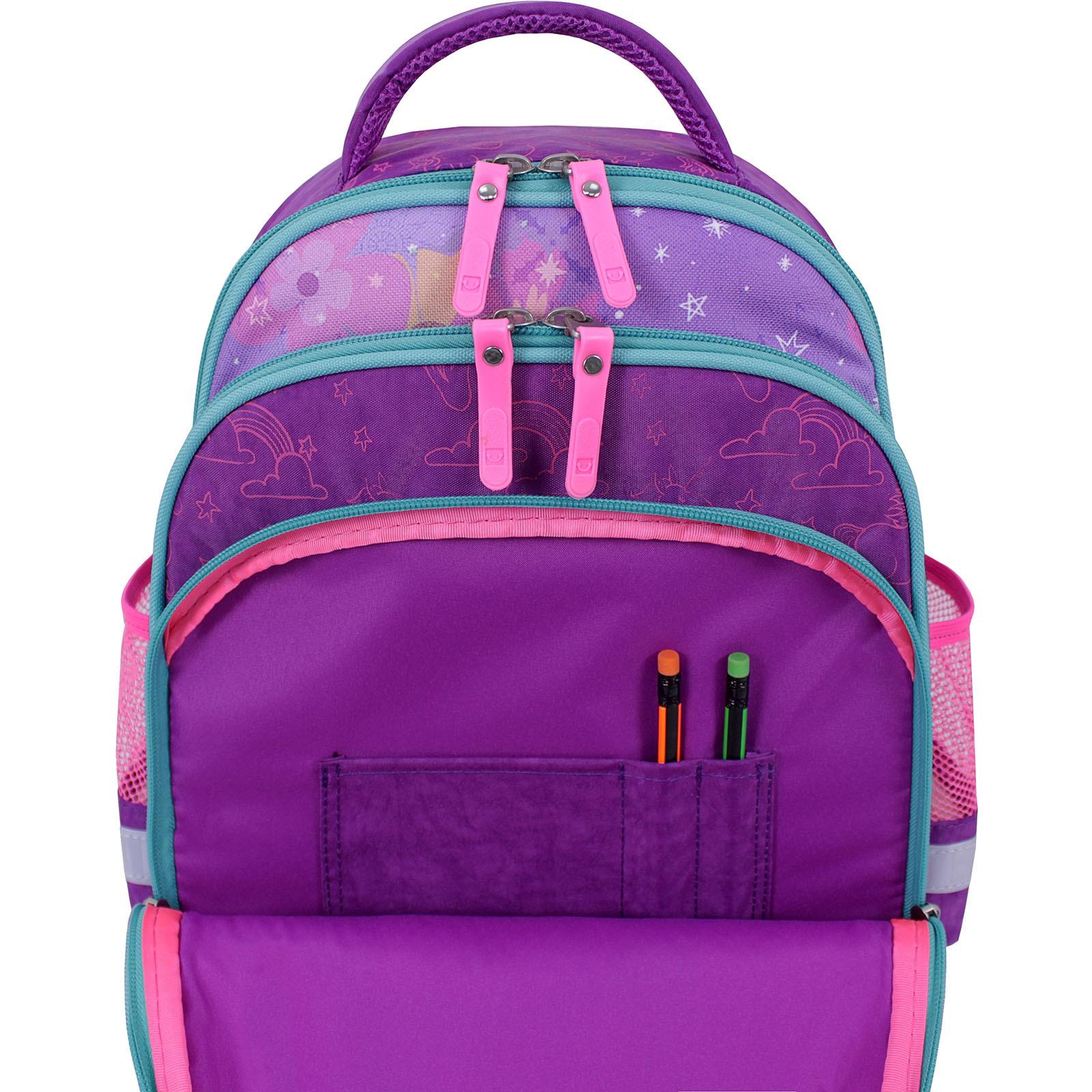 Рюкзак школьный Bagland Mouse 339 фиолетовый 596 (0051370) фото 5
