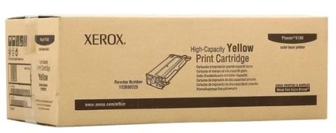 Оригинальный картридж Xerox 113R00725 желтый