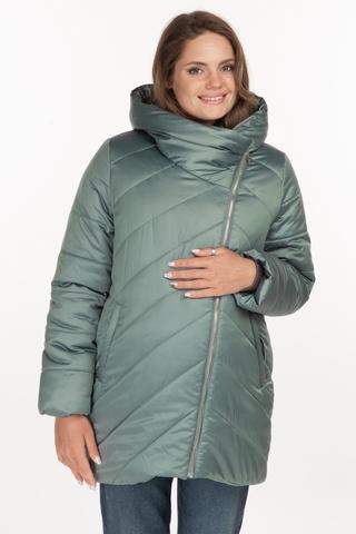 Куртка для беременных 11152 зеленый