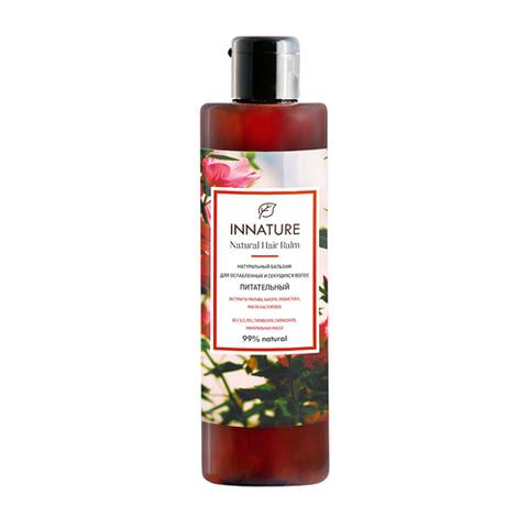 Натуральный бальзам для ослабленных и секущихся волос Питательный| Innature