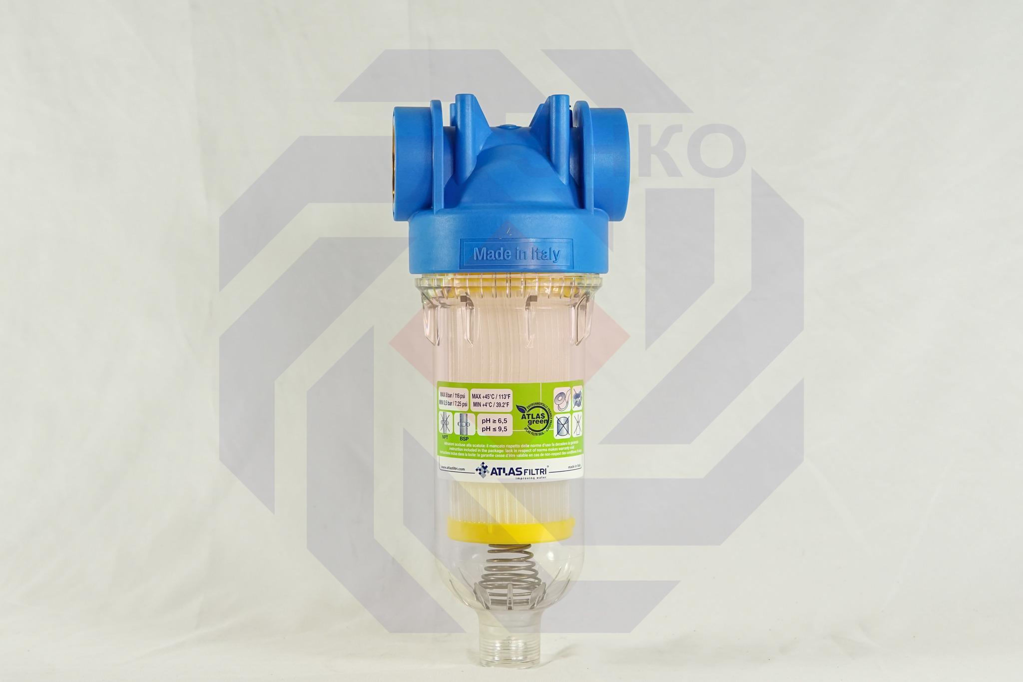 Фильтр для механической очистки самопромывающийся ATLAS HYDRA RSH 50 микрон 1¼
