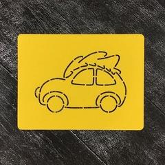 Машина с елкой №1