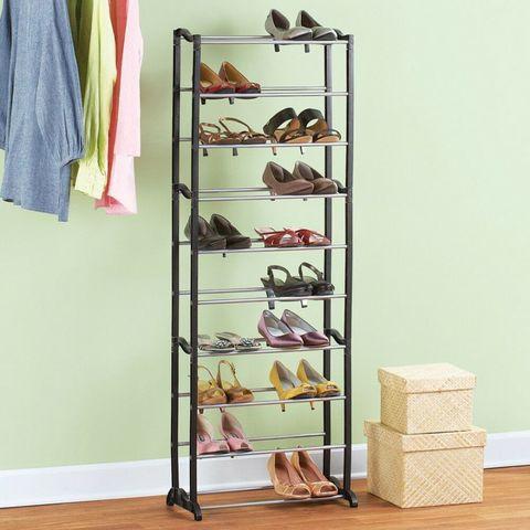 Органайзер стойка для обуви Amazing shoe rack (Черный корпус)