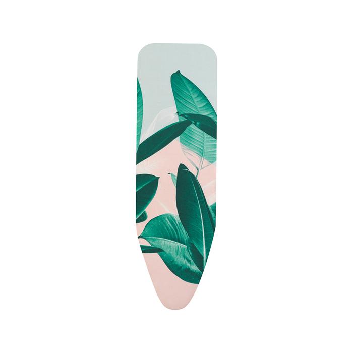Чехол PerfectFit 124х38 см (B), 2 мм поролона, Тропические листья, арт. 132025 - фото 1