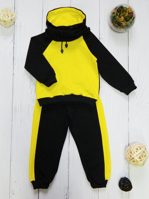 Костюм 3013, черно-желтый