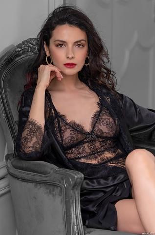 Кружевной халат в комплекте MIA-Amore MADISON Мэдисон 8922