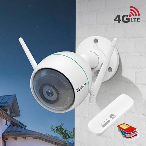 Уличная 4G камера с микрофоном