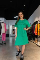 Платье из хлопка оверсайз Nadya