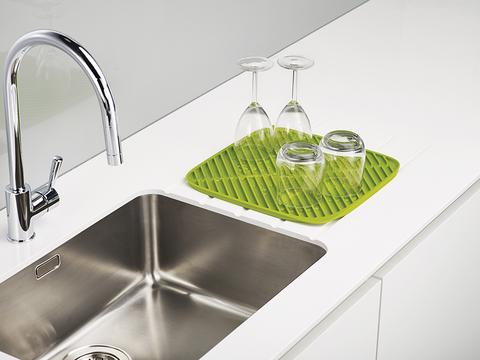 Коврик для сушки посуды Flume™ маленький серый (новый)