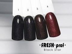 Гель лак Fresh Prof Black Star 10мл №01