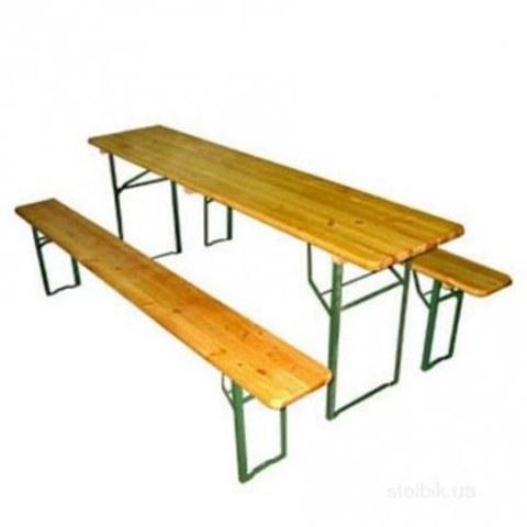 Комплект мебели ПГ500 (стол и 2скамейки)
