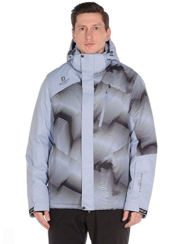 Горнолыжная мужская куртка BATEBEILE серого цвета.