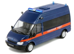 Ford Transit Investigative Committee Russia 1:43 DeAgostini Service Vehicle #45