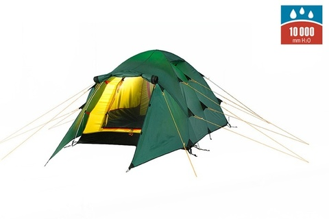 Картинка палатка туристическая Alexika NAKRA 2 green, 410x140x100  - 1
