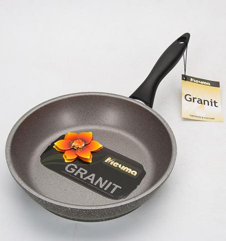 Сковорода «Гранит» несъемная ручка 28 см 28701