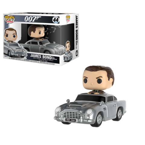 Фигурка Funko POP! Rides: James Bond w/ Aston Martin 24820