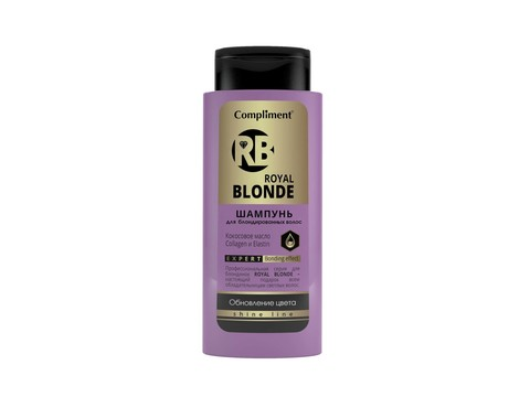 Compliment Royal Blonde Шампунь для блондированных волос