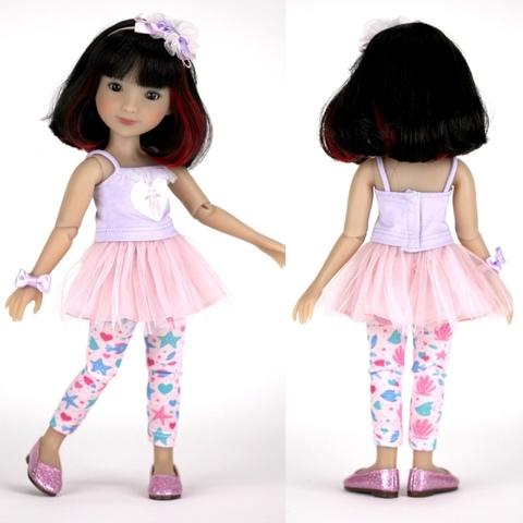 Кукла Сидни, 31 см, Руби Ред (Ruby Red) Siblies, Новинка 2021!