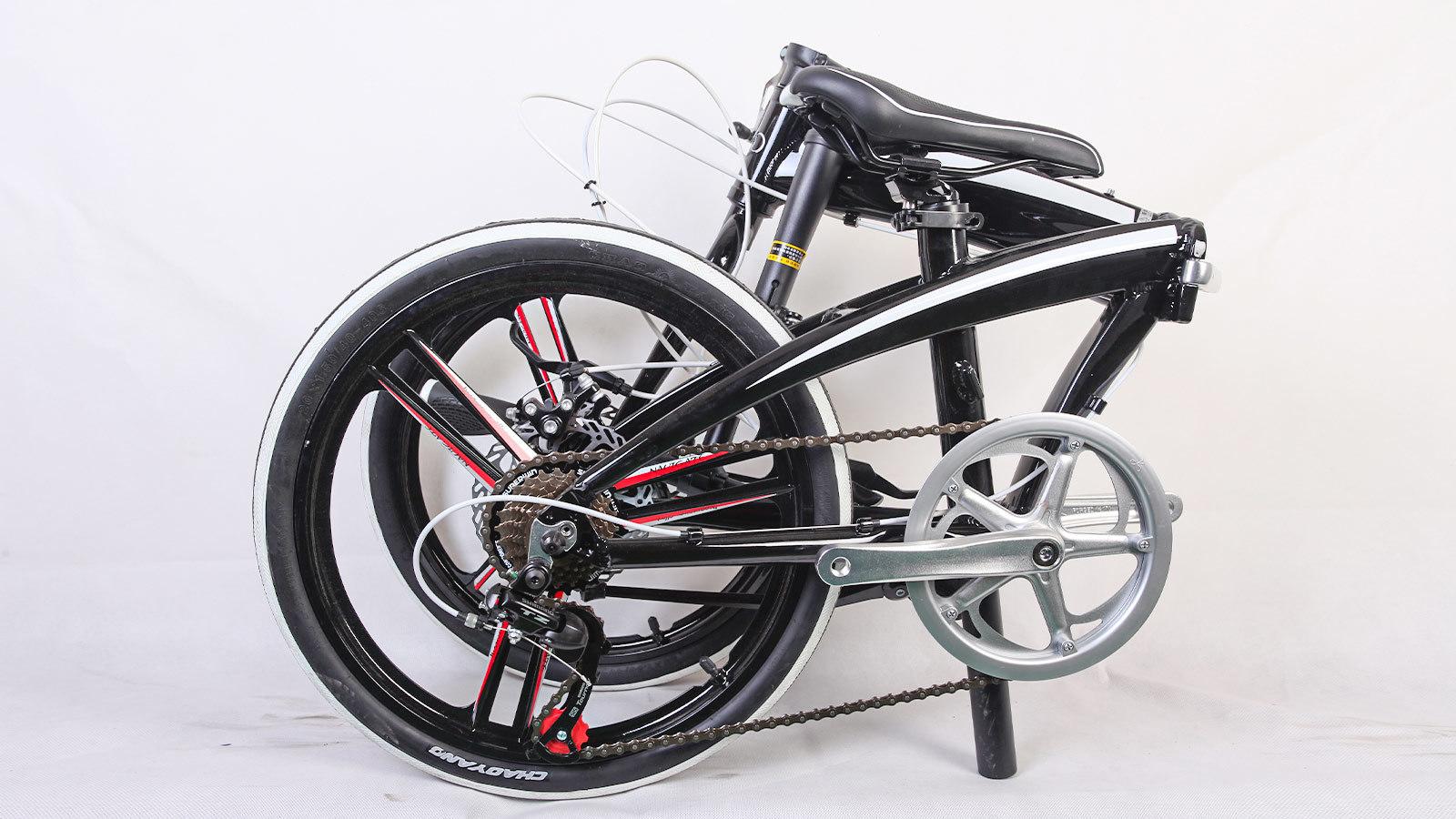 городской велосипед складной заднее колесо