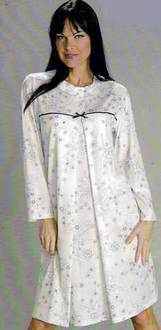 Ночная сорочка c длинным рукавом PRIMA ROSA C 876