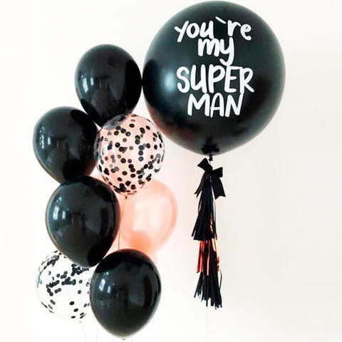 шары для мужчины, шары на день рождения