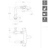 Напольный термостатический смеситель для ванны с изливом DRAKO 3335S - фото №3