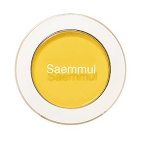 СМ Eye Тени для век матовые Saemmul Single Shadow(Matte) YE03 Lemon Candy Yellow 1,6гр
