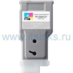 Картридж PFI-206PGY 300 мл