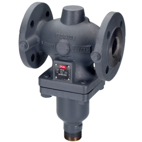Клапан регулирующий чугун VFG2 Danfoss 065B2400 универсальный Ру16 Ду 250 Kvs=400 Tmax 150°С