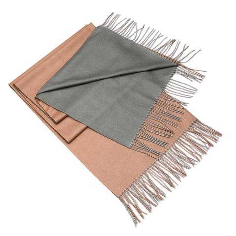 Кашемировый шарф двухсторонний