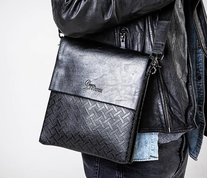 BAG559-1-4 Тонкая мужская сумка из искусственной кожи