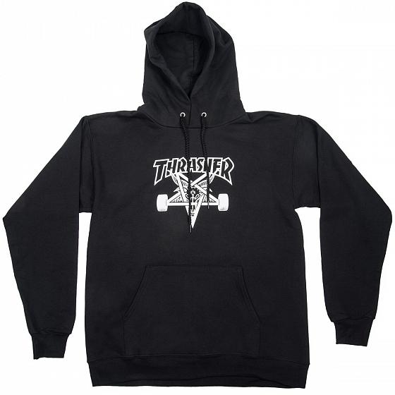 Толстовка THRASHER Skate Goat Hood Black