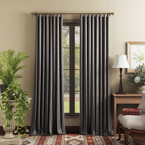 Комплект штор Тейлор серый