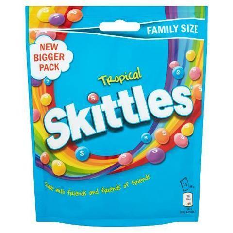 Skittles Tropical 196 гр