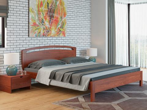 Кровать Тахта Веста 1 с основанием красно-коричневый