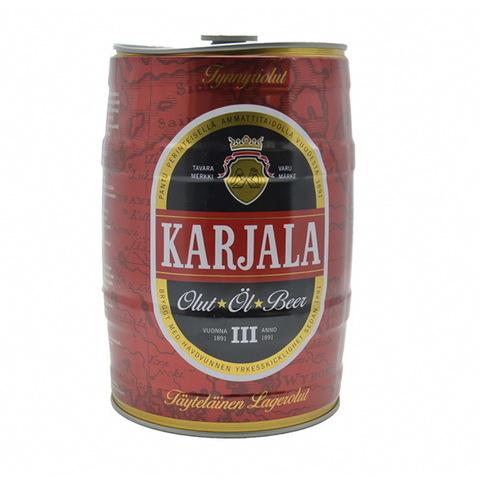 Банка жестяная Karjala 5 л