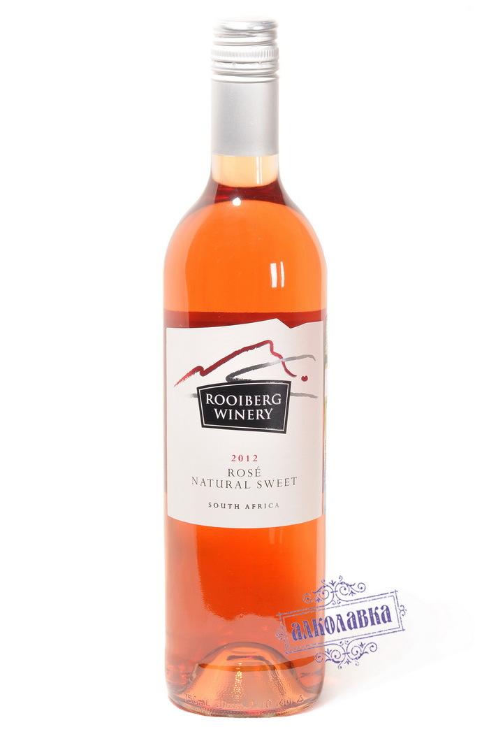 Вино Руиберг Вайнери Розе Натурал Свит розовое полусладкое 0,75л 10%