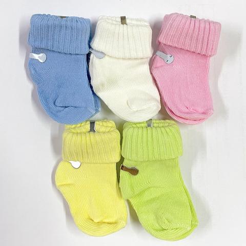Папитто. Носки для новорожденных, цветные